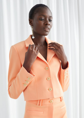 And other stories Cropped Tailored Blazer