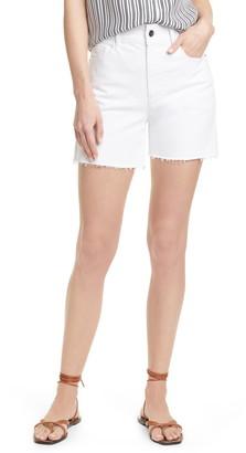 Frame Le Tour High Waist Denim Shorts