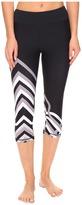 Trina Turk Lattice Wrap Mid Length Leggings