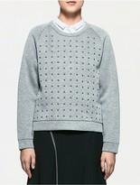 Calvin Klein Platinum Studded Sweatshirt