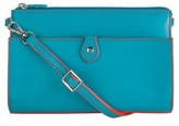 Lodis 'Audrey Collection - Vicky' Convertible Crossbody Bag - Blue/green