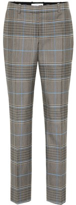 Givenchy Check wool-blend pants