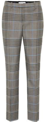 Givenchy Check wool-blend pants
