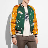 Coach Reversible Sundae Varsity Souvenir Jacket