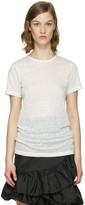 Isabel Marant White Madras T-Shirt