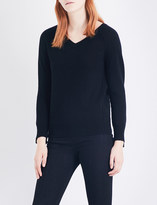 Helmut Lang V-neck cashmere knitted jumper