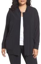 Zella Plus Size Women's Long Bomber Jacket