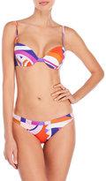 Emilio Pucci Printed Underwire Contour Bikini