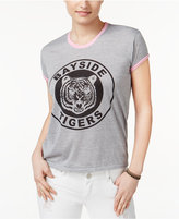 Mighty Fine Juniors' Bayside Tigers Graphic Ringer T-Shirt