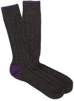 J.Mclaughlin Tipped Cashmere Socks