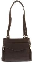 Piel Leather Double Compartment Shoulder Bag 2999