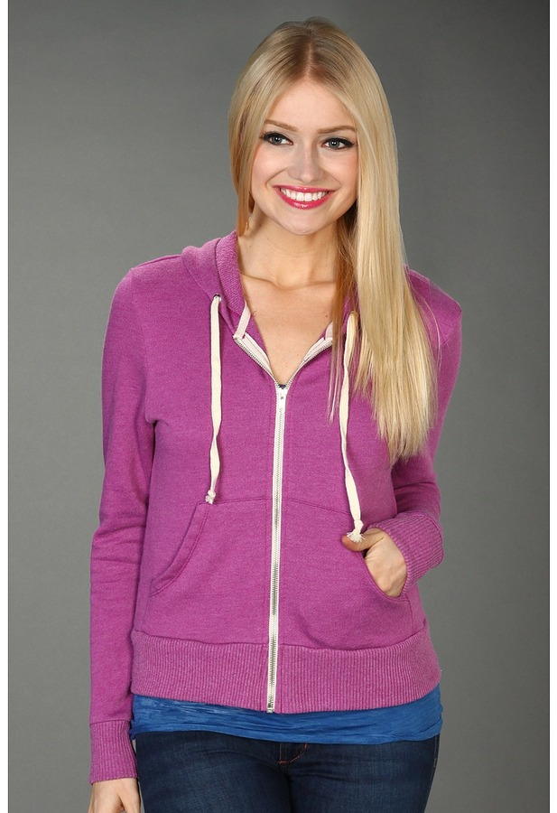 Alternative Apparel Phoebe Hoodie (Purple Punch) - Apparel