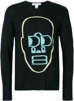 Comme des Garcons embroidered sweatshirt