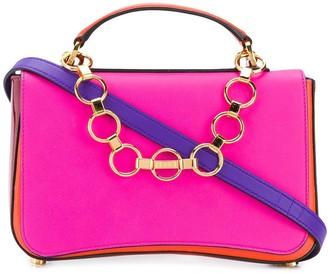 Emilio Pucci Chance Chain Embellished Colourblock Bag