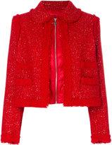 Moncler Gamme Rouge padded bouclé jacket