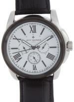 Jeff Banks Designer Black Chronograph Watch