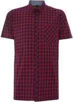 Merc Gingham Classic Fit Short Sleeve Vilano Shirt