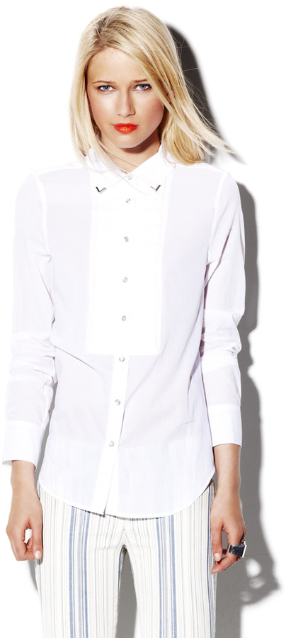 Vince Tuxedo Western Shirt