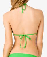 Forever 21 Ruffled Triangle Bikini Top