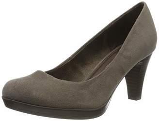 Marco Tozzi Women's Platform Heels, Brown (Pepper 324)