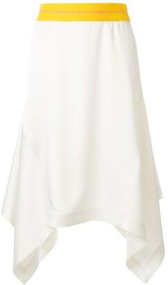 CK Calvin Klein Asymmetric Midi Skirt