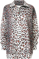Marques Almeida Marques'almeida oversized leopard sweatshirt