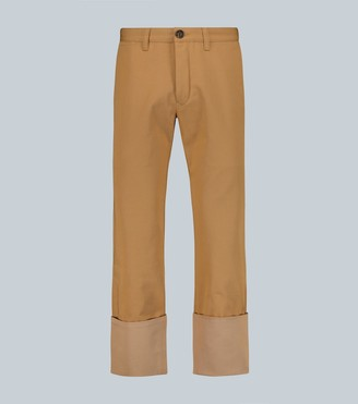 Loewe Straight-leg cotton chinos