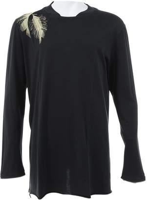 McQ Black Cotton T-shirts