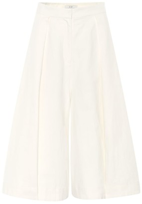 Co Linen and cotton culottes