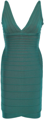 Herve Leger Lauren Bandage Mini Dress