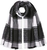 Burberry Printed Cashmere Scarf with Silk