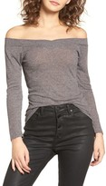 Obey Women's Union Street Off The Shoulder Top
