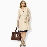 Rosa Cotton-Linen Knit Trench
