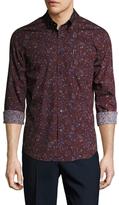 Ben Sherman Paisley Long Sleeve Sportshirt