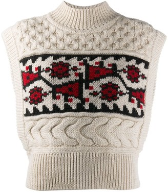 Etoile Isabel Marant Sleeveless Knit Jumper
