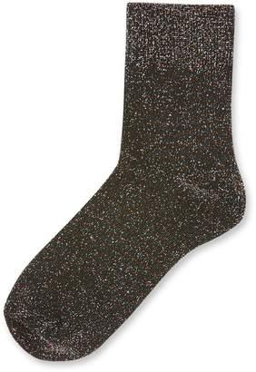 Topshop Glitter Socks