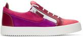 Giuseppe Zanotti Pink May London Sneakers