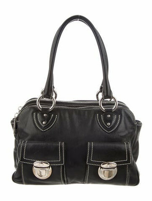 Marc Jacobs Leather Shoulder Bag Black