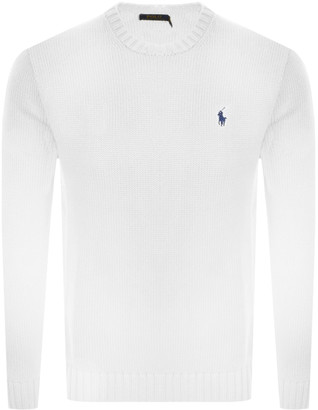 Ralph Lauren Knit Jumper White