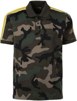 Valentino Camouflage Polo T-shirt