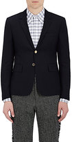 Thom Browne Men's Basket-Weave Two-Button Sportcoat-NAVY