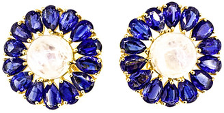 Arthur Marder Fine Jewelry Gold Over Silver Gemstone Earrings