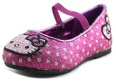Hello Kitty Lil Tania Toddler Round Toe Synthetic Pink Ballet Flats.