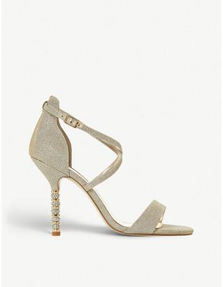 Dune Malibu embellished heeled sandals