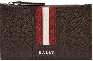 Bally Men's Tenley Trainspotting-Stripe Zip Pouch