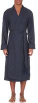 Derek Rose Tasselled wool dressing gown