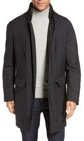 Pal Zileri Men's Caban Coated Jacket