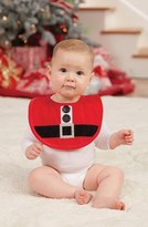 Mud Pie Santa Bib