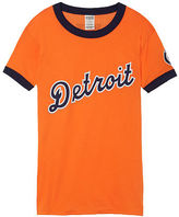 PINK Detroit Tigers Perfect Ringer Tee