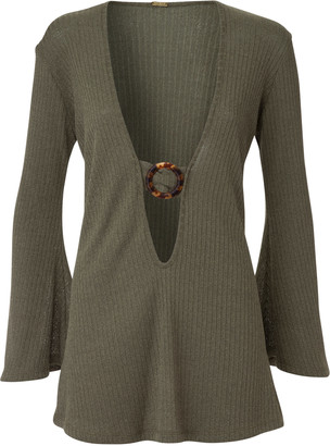 Dodo Bar Or Juanna Ribbed Jersey Mini Dress